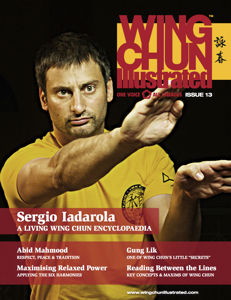 Wing Chun Illustrated Issue #13 Cover