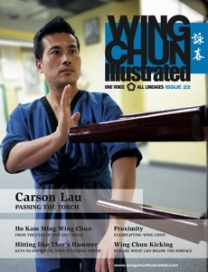 Wing Chun Illustrated Issue #22 Cover