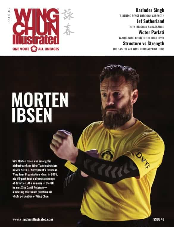 Issue 47 of Wing Chun Illustrated featuring Sifu Morten Ibsen