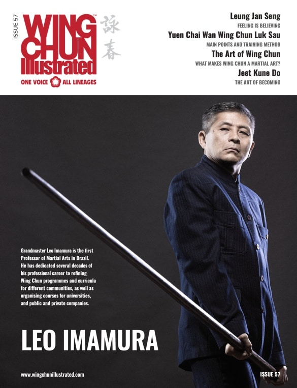 Wing Chun Illustrated Issue 57 featuring Sifu Leo Imamura