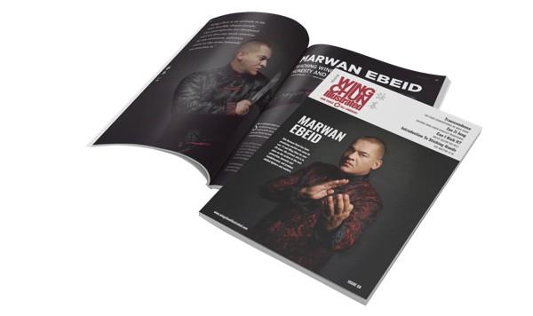 Issue 59 Print Edition featuring Sifu Marwan Ebeid