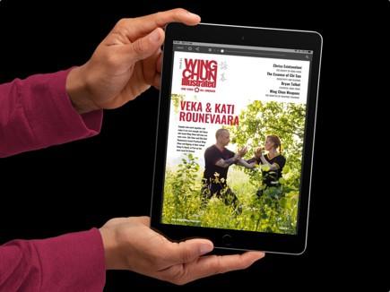 Issue 61 of Wing Chun Illustrated featuring Sifu Veka and Sifu Kati Rounevaara